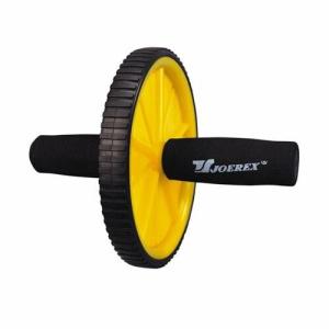 d5a54fd518927 Домашний фитнес Ролик гимнастический 1 колесо JOEREX неопреновые ручки 7896  00011415
