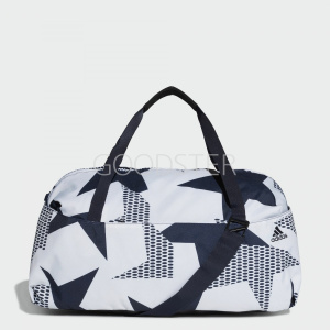84c278f187e6 Спортивная сумка Training ID Graphic adidas Performance Raw White / Legend  Ink / White