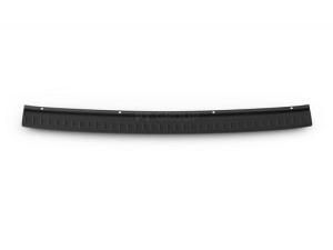 Накладка на задний бампер (ABS, черное тиснение) LADA KALINA Cross / II универсал с 2020