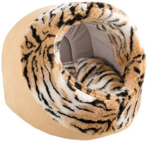 Ferplast Дом-будка мягкий для собак и кошек IMPERIAL 45 отделка мехом, 45х48х45 см