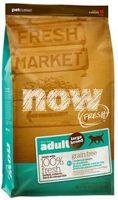 10125/03858 NOW FRESH Беззерновой д/взрослых собак Крупных пород с Индейкой,Уткой и овощами 2,72кг *4