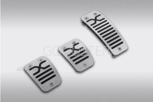 LADA комплект накладок на педали xray д