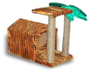 Иванко дом «тропический» с пальмой и когтеточкой (1 шт)