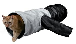 Домики и лежаки Trixie Тоннель для кошки TRIXIE, шуршащий 115см*ф30см,1.5 кг