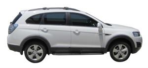 Багажник Whispbar с поперечиной RailBar Chevrolet Captiva, 5 Door SUV 2006 - 2020 (Rails) c рейлингами