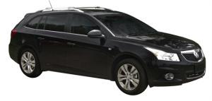 Багажник Whispbar с поперечиной RailBar Chevrolet Cruze универсал, 5 Door Estate 2020   (Rails) c рейлингами