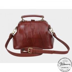 8d34ddb1fadc Женские кожаные сумки саквояж Симона - купить в Москве по выгодной цене