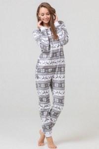 ae29516333b3 Пижамы-кигуруми Футужама Серый енот - купить в Москве по выгодной цене