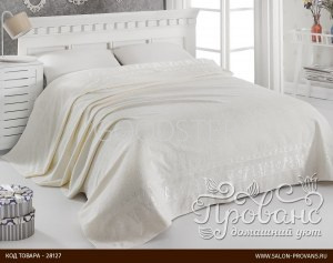 99f5691307e4 Махровая простынь-одеяло-покрывало Pupilla Elit махра бамбук кремовый  200*220