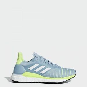 650a88e0 Кроссовки для бега Solar Glide adidas Performance ash grey s18 / ftwr white  / hi-
