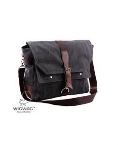 7227128ef2cf Мужская сумка на два отделения из канваса и натуральной кожи, тип W+W,