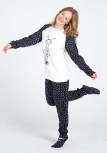 2c383e67203d1 Милая молодёжная пижама с сердечками Pop corn D6938