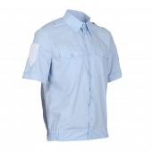 20f83ab0538 Рубашка полиции бледно-голубая мужская к р с липучкой (43 4)