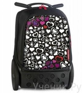 593223a8cd1c Школьные рюкзаки на колесах с выдвижными ручками - купить в Москве ...