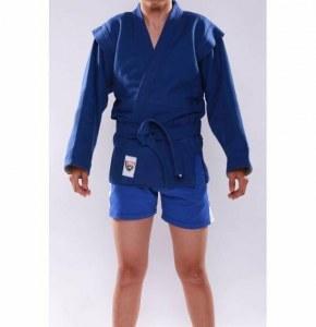 2d50ed35929a Кимоно (куртка) для самбо - самбовка детская, размер 28, рост до 130