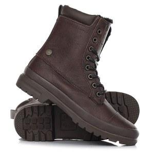 b33b5ed6c Коричневые зимние ботинки женские DC Shoes Amnesti Wnt Brown/Chocolate