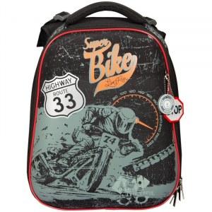 5478c1bc87df Ранец BERLINGO Expert RU038022 Super bike 2 отделения, анатомическая спинка