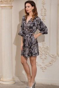 d7c8b844f2ea2 Женский халат из натурального шелка - купить в Москве по выгодной цене