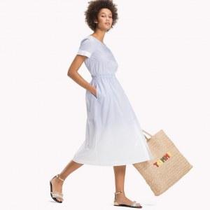 e064aff0bf4787f Длинная юбка в полоску - Синий - Tommy Hilfiger - EU36 - Женщины