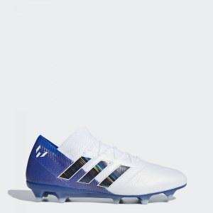 84d9c32b Футбольные бутсы Nemeziz Messi 18.1 FG adidas Performance Ftwr White / Core  Black / Football Blue