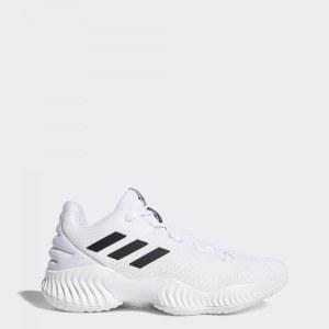 8ccf78c1 Баскетбольные кроссовки Pro Bounce 2018 Low adidas Performance ftwr white / core  black / crystal white