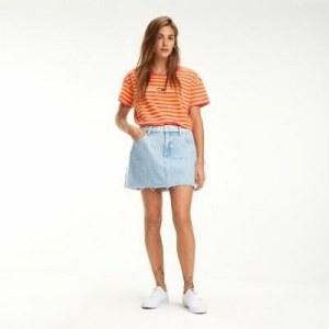bc19552f976a72d Джинсовая юбка с эффектом потертости - Деним - Tommy Hilfiger - 30NI -  Мужчины