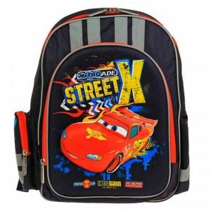 0a573d9bcf9f рюкзак школьный эргоном.спинка мал. Disney Cars 38*29*13, синий