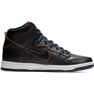 8b9e32cd Красные мужские высокие кеды Nike Dunk - купить в Москве по выгодной ...