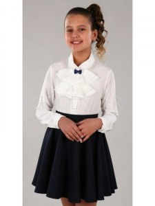f8191540648 Нарядные блузки детские - купить в Москве по выгодной цене