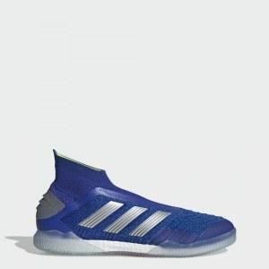 7ebb353f Футбольные бутсы (футзалки) Predator Tango 19+ IN adidas Performance Bold  Blue / Silver