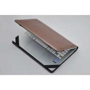 ae23c43c2830 Защитный противоударный чехол-обложка-футляр-кейс для ноутбука Dell Vostro  1510 из кожи