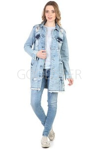 c02b6931111 Турецкие джинсовые куртки женские - купить в Москве по выгодной цене