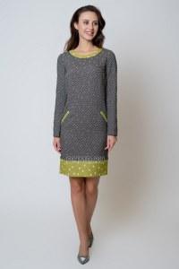 ce1255e88e7 Зеленые платья с белым воротником - купить в Москве по выгодной цене