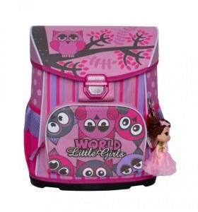 ca15ec3ba93e Москва В магазин · Рюкзак школьный Grizzly цвет: розовый 30х36х21 см