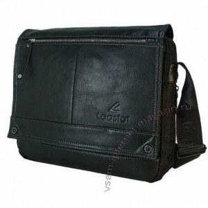 044f970e Сумка-планшет через плечо (черная, полиэстер и экокожа, мужская, для  подростка